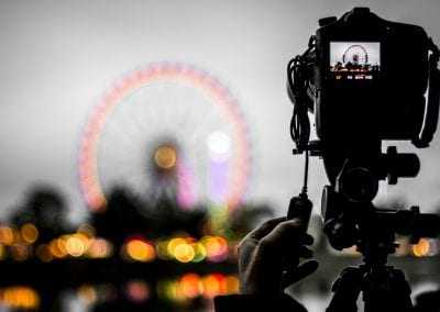 Wasen Cannstatt Stuttgart Riesenrad blur Ben Gomes Photography